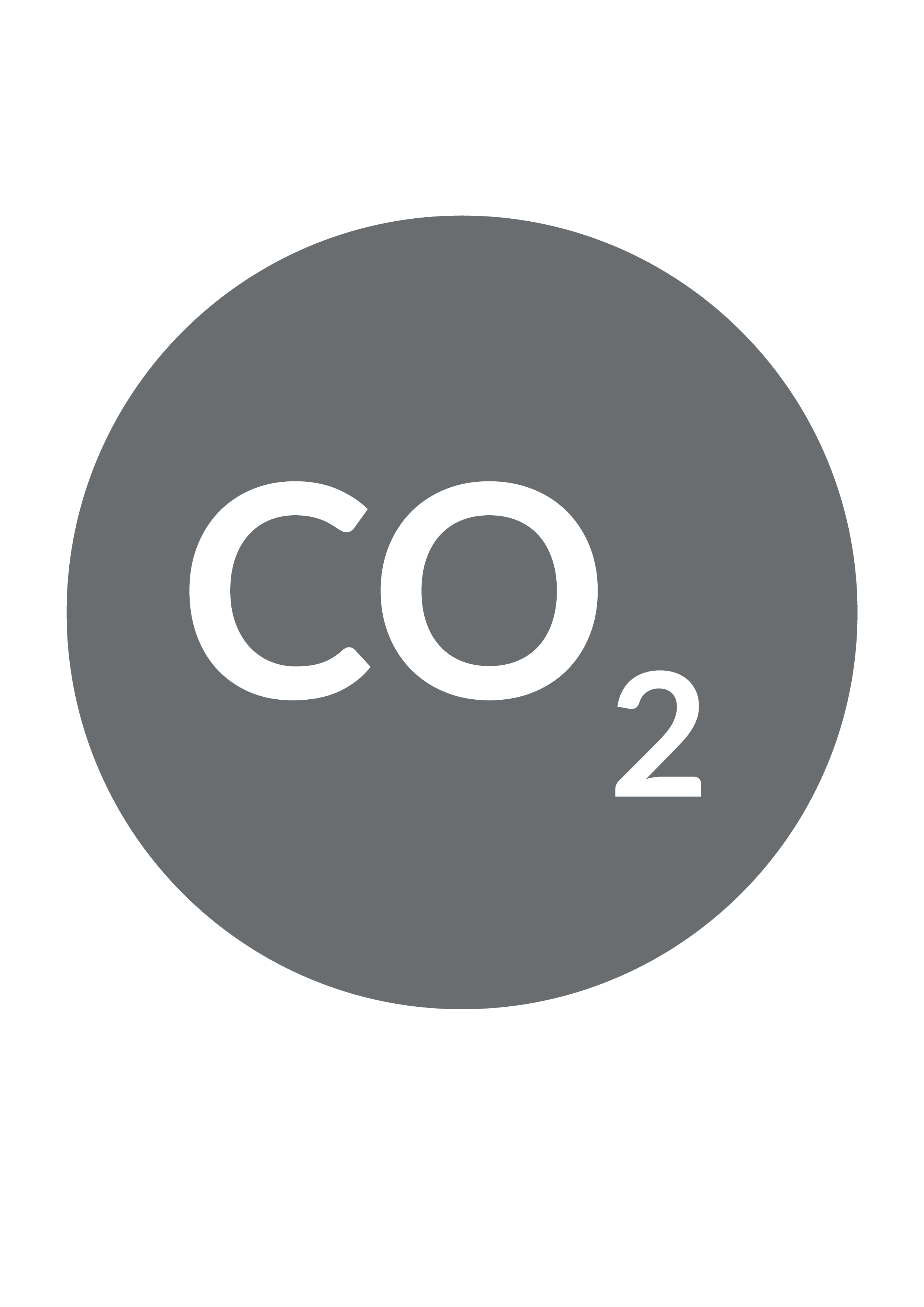 Reduced Co2 icon