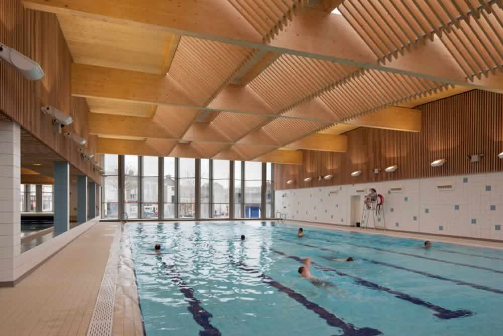 Circosense case study nottingham city council victoria leisure centre for The quays swimming pool southampton